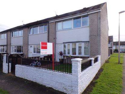 3 Bedrooms End Of Terrace House for sale in Esk Road, Winsford, Cheshire, England