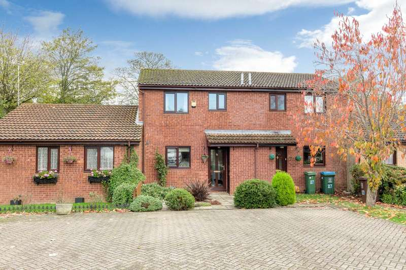3 Bedrooms Terraced House for sale in Glebe Close, Maids` Moreton