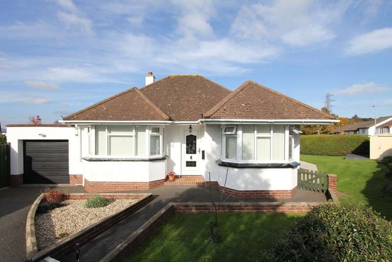 2 Bedrooms Detached Bungalow for sale in Lindridge Close, Kingsteignton