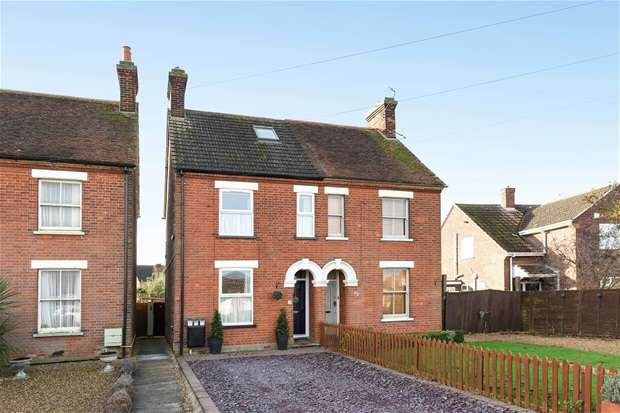3 Bedrooms Semi Detached House for sale in Fields Road, Wootton