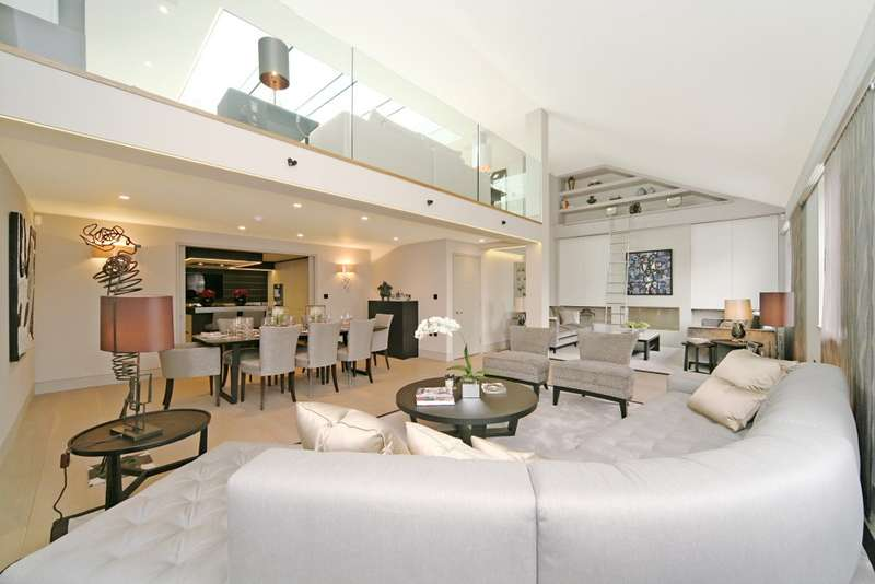 4 Bedrooms Penthouse Flat for rent in Prince's Gate, South Kensington, SW7