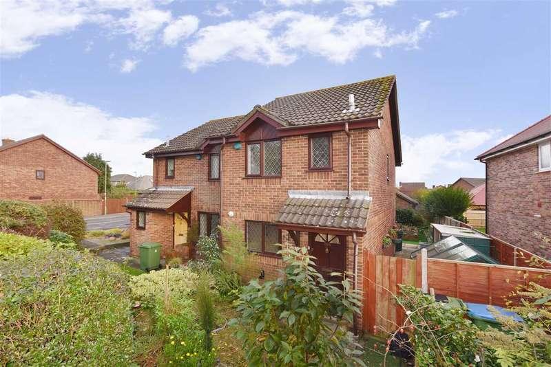 2 Bedrooms Semi Detached House for sale in LOCKS ROAD, LOCKS HEATH