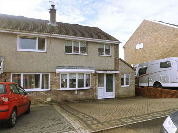 3 Bedrooms Semi Detached House for sale in Tyn Y Twr, Baglan, Port Talbot, West Glamorgan