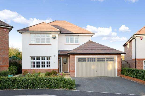4 Bedrooms Detached House for sale in Primrose Drive, Newton Abbot, Devon