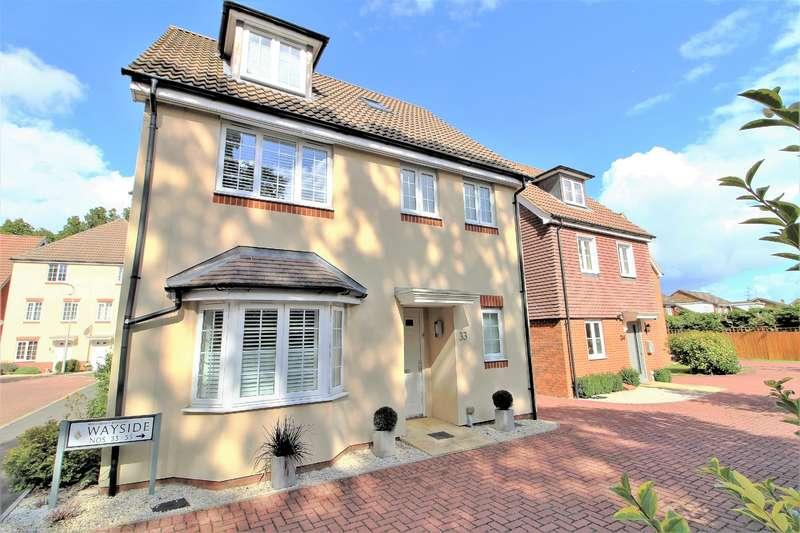 4 Bedrooms Detached House for sale in Wayside, Winnersh, Wokingham, RG41 1AD