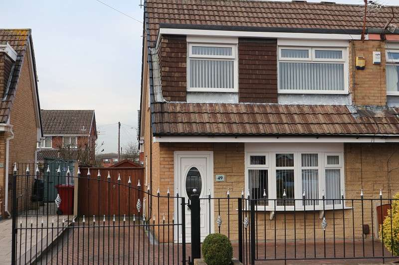 3 Bedrooms Semi Detached House for sale in Grassington Crescent, Liverpool, Merseyside. L25 9SB