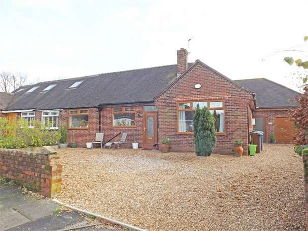 4 Bedrooms Semi Detached Bungalow for sale in Thornley Park Road, Grotton, Oldham, Lancashire