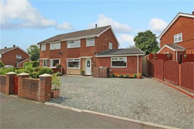 4 Bedrooms Semi Detached House for sale in Maesteg, Penycae, Wrexham