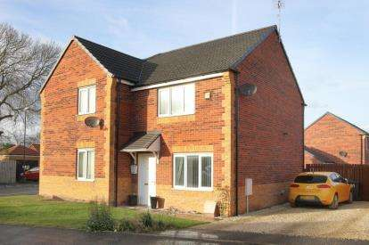 2 Bedrooms Semi Detached House for sale in Masefield Avenue, Holmewood, Chesterfield, Derbyshire