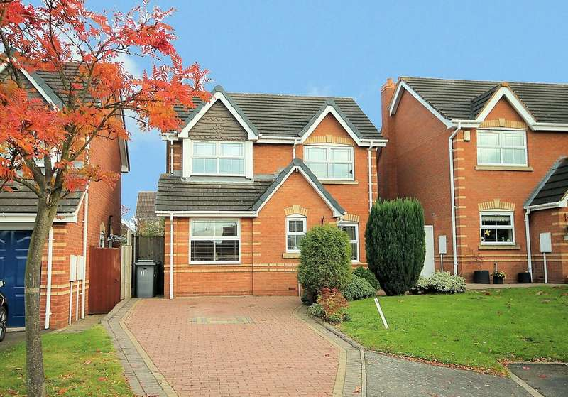 3 Bedrooms Detached House for sale in Stonehaven, Amington, Tamworth, B77 3QX