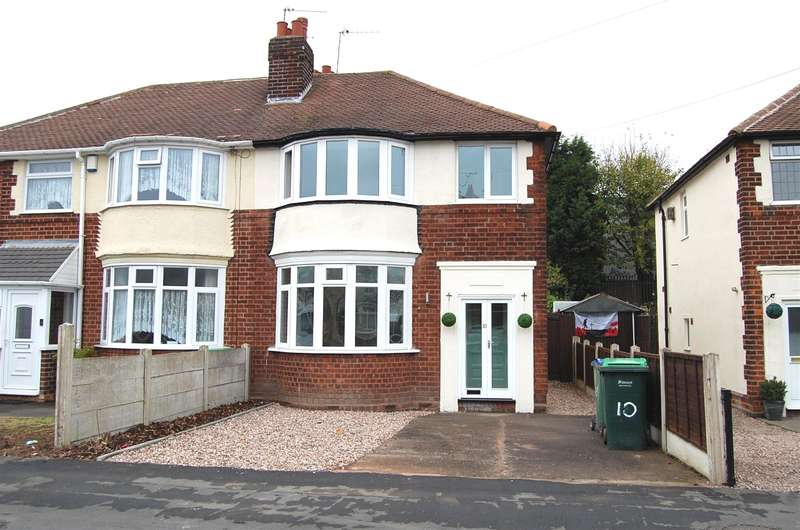 3 Bedrooms Semi Detached House for sale in Moat Road, Tipton, DY4 9PS
