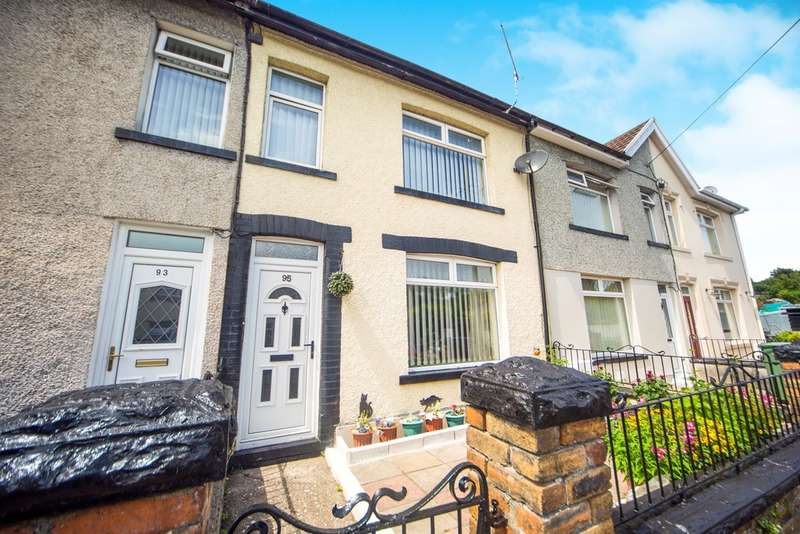 3 Bedrooms Terraced House for sale in Commercial Street, Beddau, Pontypridd