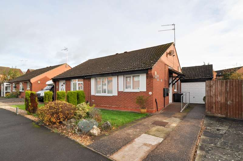 2 Bedrooms Semi Detached Bungalow for sale in Kingham Close, Winyates Green, Redditch, B98