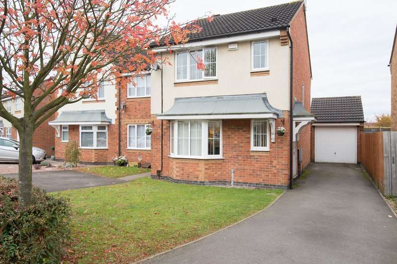 3 Bedrooms Semi Detached House for sale in Moore Close, Coventry, West Midlands, CV6