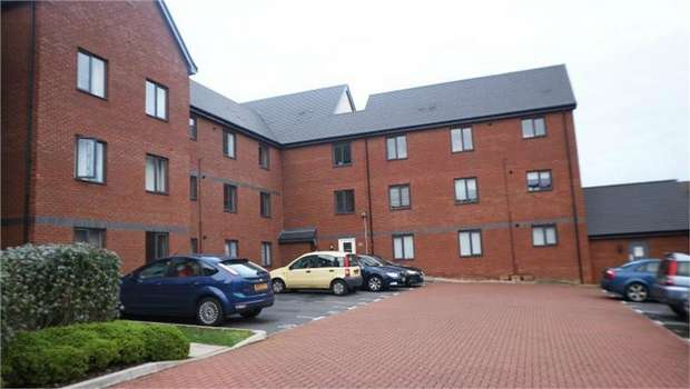 2 Bedrooms Flat for sale in Kirkistown Close, Rugby, Warwickshire