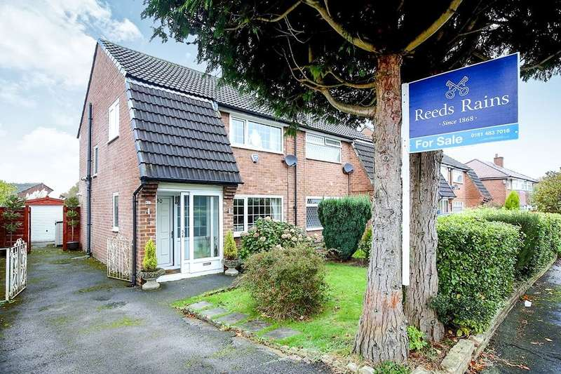3 Bedrooms Semi Detached House for sale in Yew Tree Avenue, Hazel Grove, Stockport, SK7