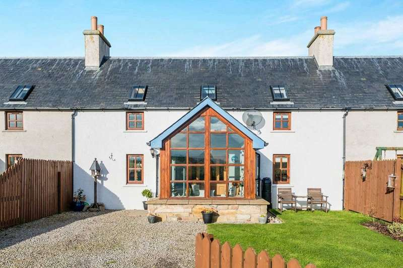 4 Bedrooms Terraced House for sale in Tarrel Farm Cottages, Portmahomack, Tain, Highland, IV20 1SL