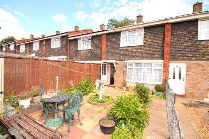 2 Bedrooms Terraced House for sale in Delamere Walk, Bedford, Bedfordshire