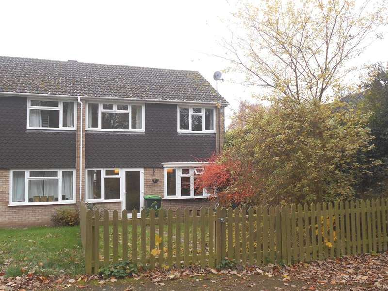 3 Bedrooms End Of Terrace House for sale in Towns End Road, Sharnbrook, Bedfordshire, MK44 1HY