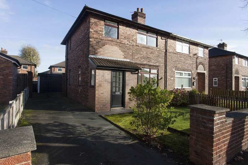 3 Bedrooms Semi Detached House for sale in Kingsway South, Warrington, Cheshire, WA4