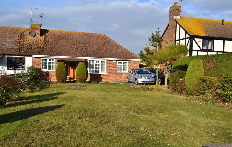 2 Bedrooms Semi Detached Bungalow for sale in 11 Polo Way, Chestfield, Whitstable