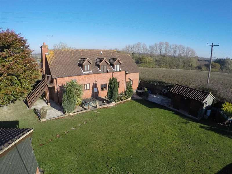 5 Bedrooms Detached House for sale in Royal Beech Cottage, Ashbocking Road, Henley