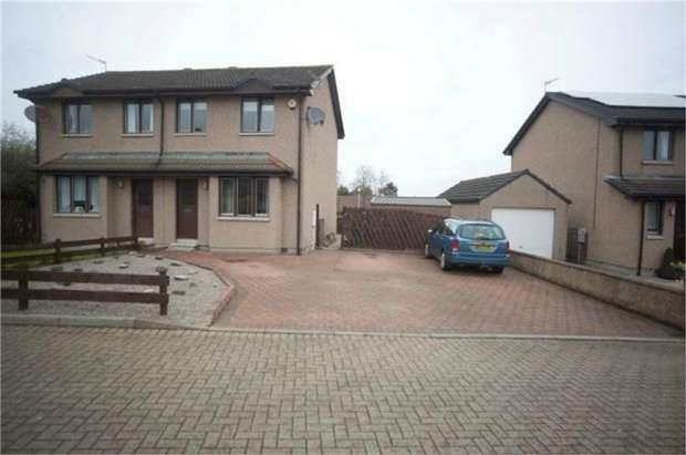 3 Bedrooms Semi Detached House for sale in Belhaven Road, Pitmedden, Ellon, Aberdeenshire