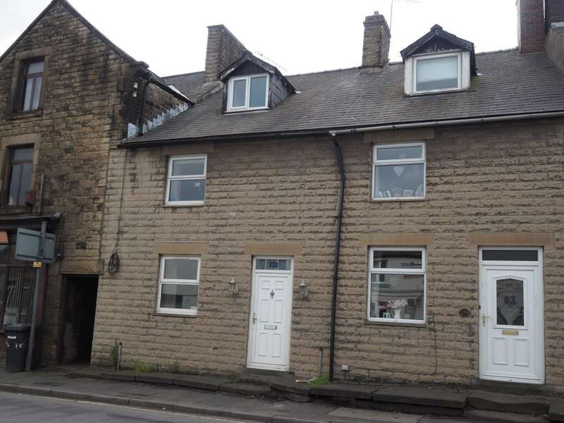 3 Bedrooms Terraced House for sale in Market Street, Chapel-en-le-Frith, High Peak, Derbyshire, SK23 0NT