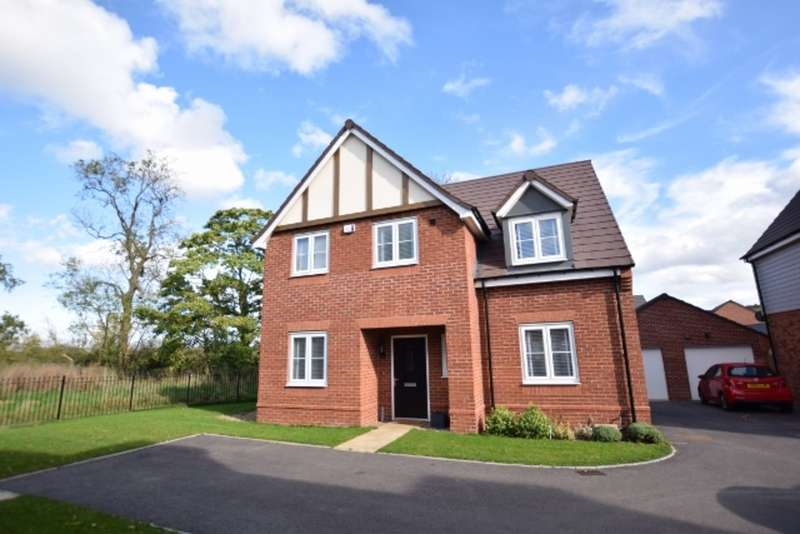 4 Bedrooms Detached House for sale in Noble way, Shirley