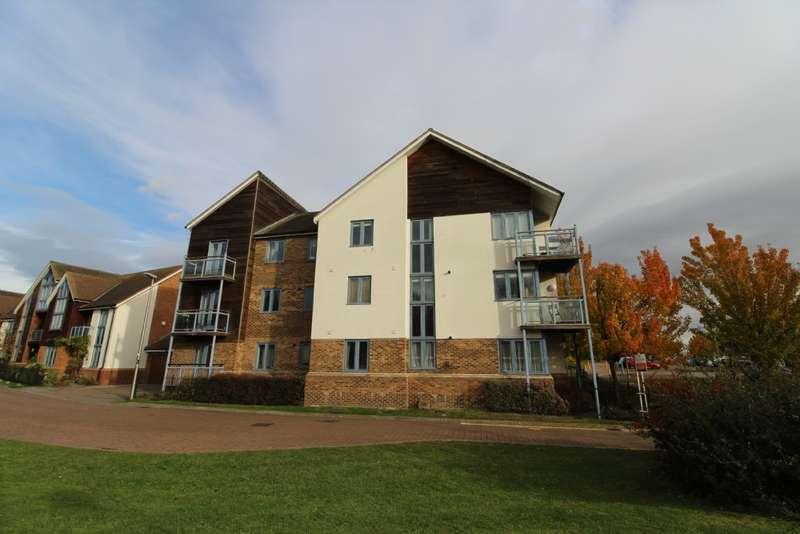 2 Bedrooms Flat for sale in Kingswear Drive, Broughton, Milton keynes, Buckinghamshire