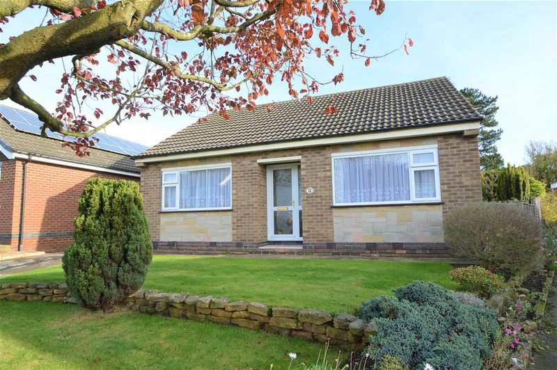 2 Bedrooms Detached Bungalow for sale in Brockwood Crescent, Keyworth, Nottingham