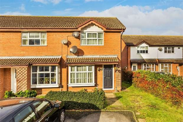 2 Bedrooms End Of Terrace House for sale in Thorneycroft Close, WALTON-ON-THAMES, Surrey