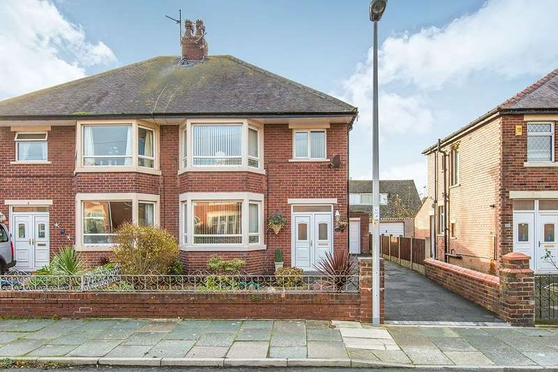 3 Bedrooms Semi Detached House for sale in Balham Avenue, Blackpool, FY4