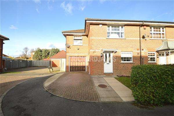 3 Bedrooms End Of Terrace House for sale in Sandwick Close, London