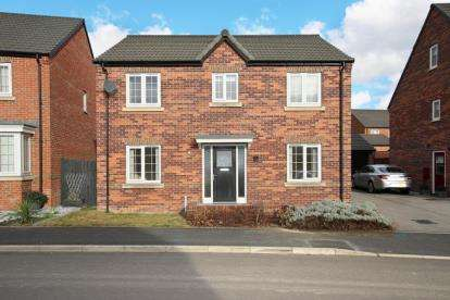 4 Bedrooms Detached House for sale in Gower Way, Rawmarsh, Rotherham, South Yorkshire