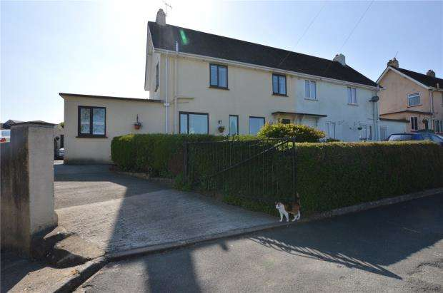 4 Bedrooms Semi Detached House for sale in Glebelands, Buckfastleigh, Devon