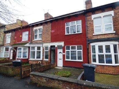 3 Bedrooms Terraced House for sale in Dogsthorpe Road, Dogsthorpe, Peterborough, Cambridgeshire