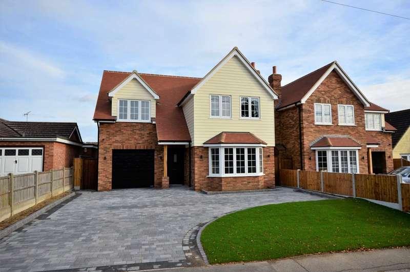 4 Bedrooms Detached House for sale in Park Lane, Ramsden Heath, Billericay