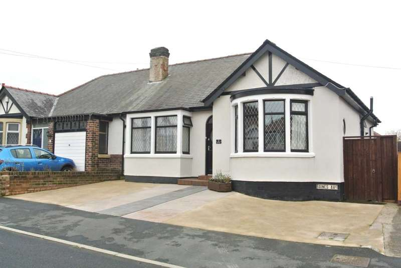 2 Bedrooms Semi Detached Bungalow for sale in Baines Avenue, Blackpool, FY3 7LA