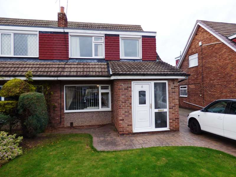3 Bedrooms Semi Detached House for sale in Yew Tree Avenue, Redcar