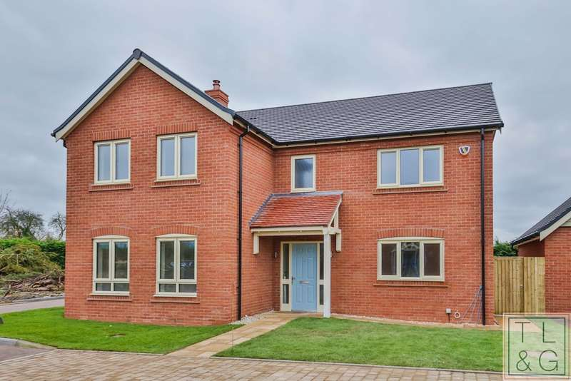 4 Bedrooms Detached House for sale in Copper Beech Close, Harvington