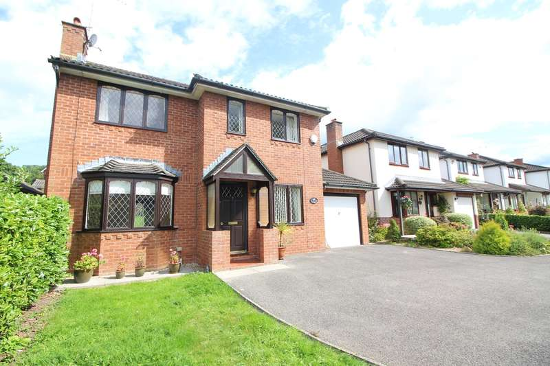 4 Bedrooms Detached House for sale in Plas Derwen Close, ABERGAVENNY, NP7