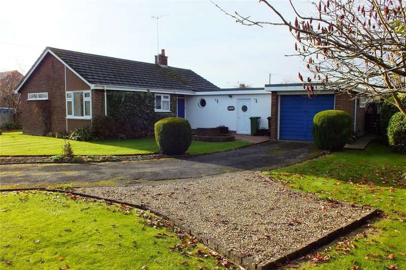 2 Bedrooms Detached Bungalow for sale in West Side, North Littleton, Evesham, Worcestershire, WR11