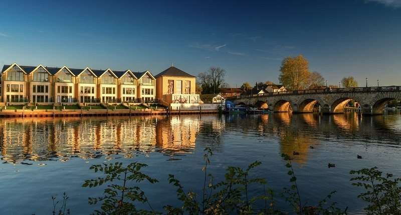4 Bedrooms Terraced House for sale in Taplow Riverside, Mill Lane, Taplow, Maidenhead, SL6