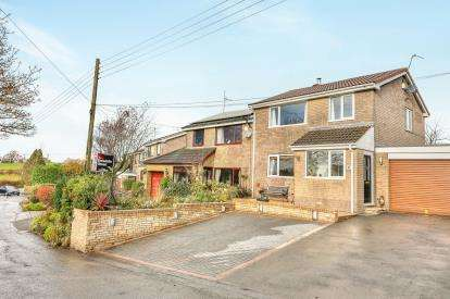 3 Bedrooms Semi Detached House for sale in Mill Hill Lane, Hapton, Burnley, Lancashire, BB11