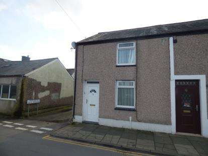 2 Bedrooms End Of Terrace House for sale in Madoc Street West, Porthmadog, Gwynedd, LL49
