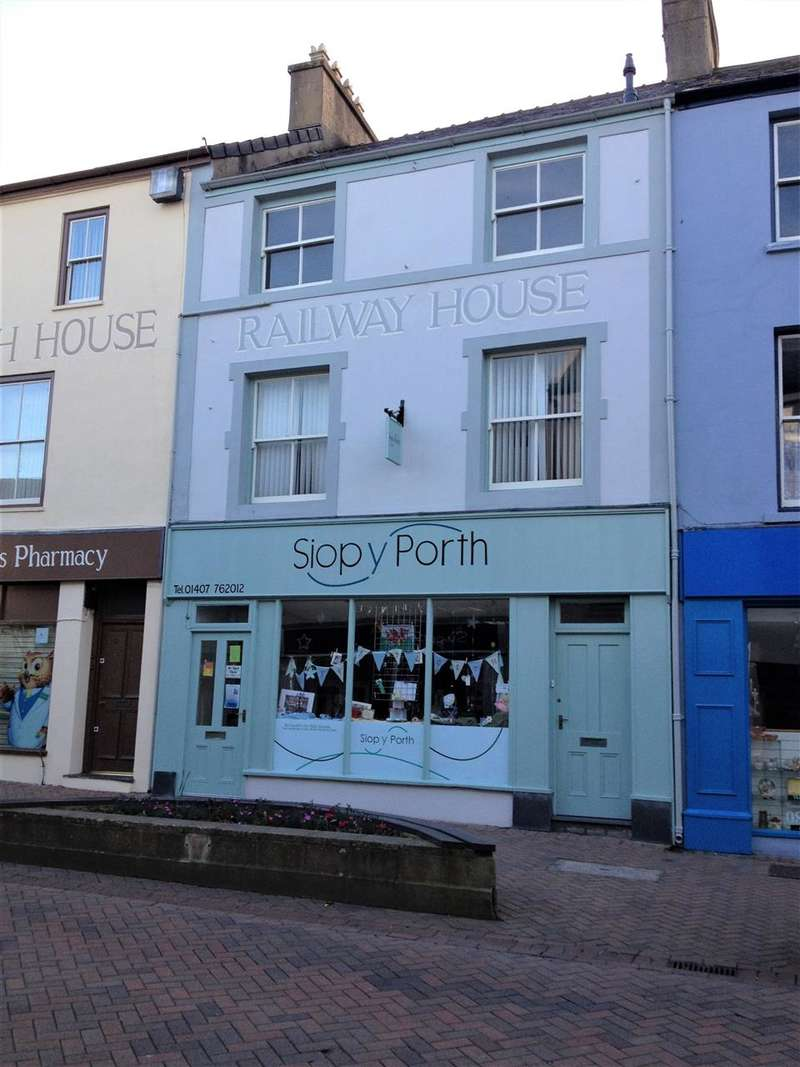 3 Bedrooms Commercial Property for sale in Market Street, Holyhead