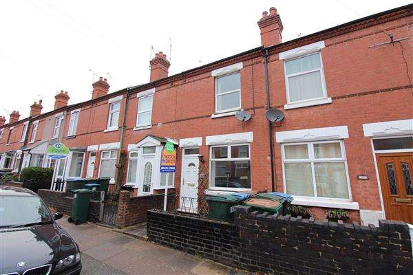 2 Bedrooms Terraced House for sale in Broomfield Road, Earlsdon, Coventry