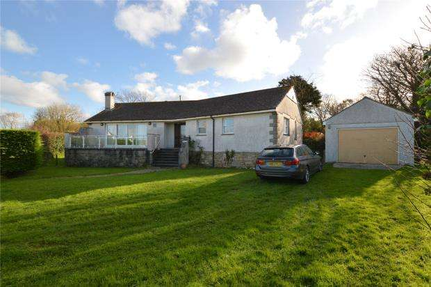3 Bedrooms Detached Bungalow for sale in Mutton Hill, Connor Downs, Hayle, Cornwall