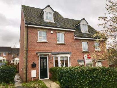 4 Bedrooms Semi Detached House for sale in Staley Farm Close, Stalybridge, Cheshire, United Kingdom